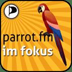 Parrot.fm im Fokus Logo