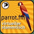 Parrot.fm Virtueller Stammtisch Logo