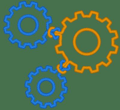 Logo Nodes Gears