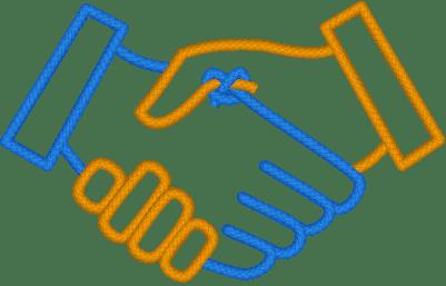 Logo Nodes Handshake